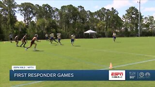 First Responders play in Olympics-style competition