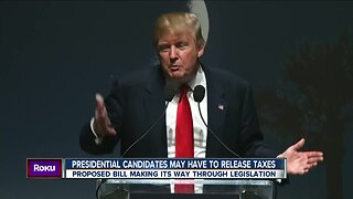 Presidential Candidates may have to release taxes