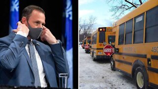 Fermeture des écoles au Québec : Le ministre Roberge dément une rumeur