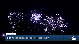 Boise City Fireworks back on for 4th of July this year