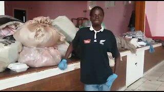 SOUTH AFRICA - Johannesburg - Homeless shelter (videos) (BTF)