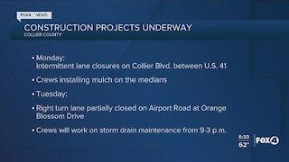 Collier County Traffic Advisory