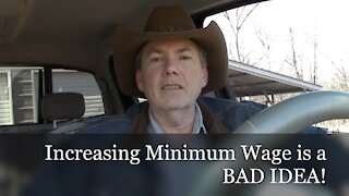 EP14: Increasing Minimum Wage Hurts Low Wage Earners; The Pickup Truck Podcast