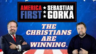 The Christians are winning. Dr. Steve Turley with Sebastian Gorka on AMERICA First