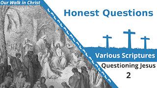 Honest Questions for Jesus | Questions 2