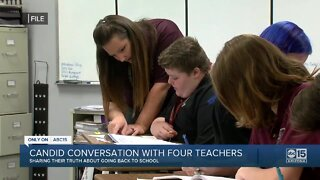 Four Valley teachers share their truth about going to school