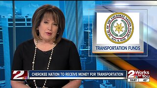 Cherokee Nation to receive money for transportation