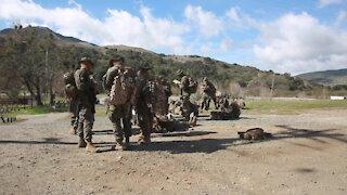 B-Roll: Marines navigate their way through Week 4 of IMC