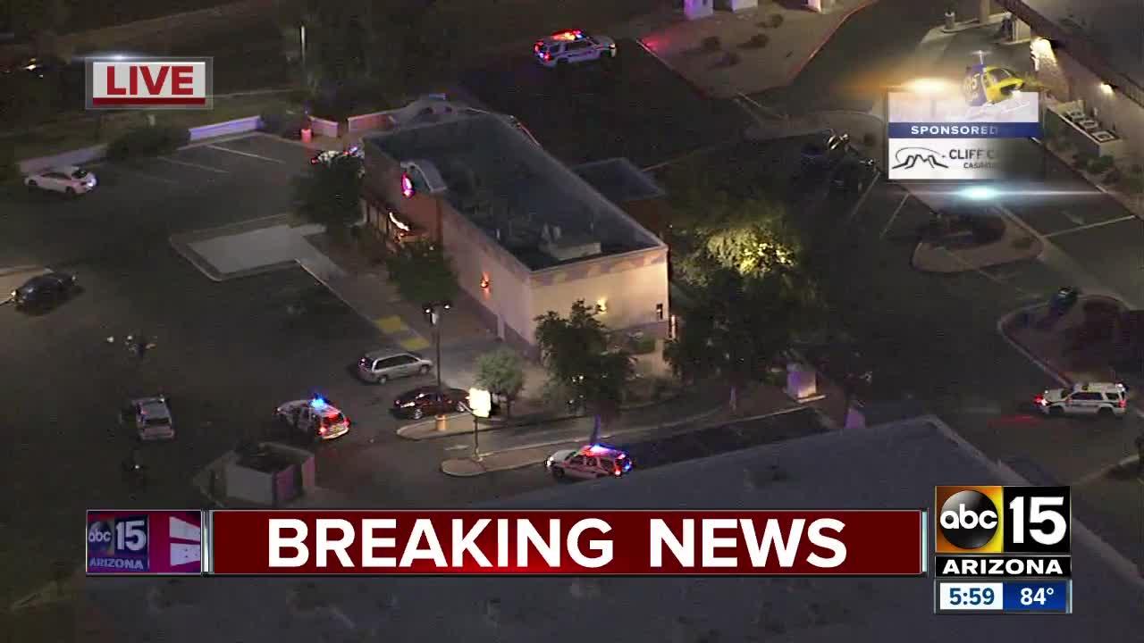 Police investigation in Glendale