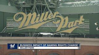 Miller Park name change could cost team $1 million