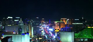 One person attacked on Las Vegas Strip