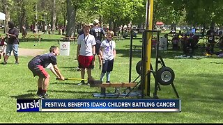 Fundraiser benefits local children battling cancer