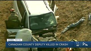 Canadian County Deputy Killed In Crash