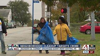 Neighborhood cleanup targets crime