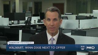 Walmart, Winn-Dixie to offer vaccines
