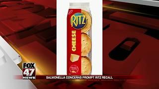 Ritz Cracker Products recalled