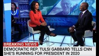 Democrat Tulsi Gabbard running for president in 2020