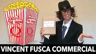 Vincent Fusca Commercial Qracker Jack Popcorn