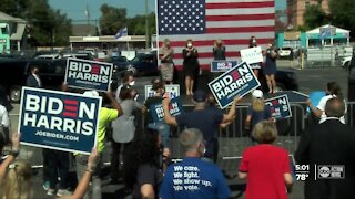 Jill Biden visits Tampa Bay area on Election Day