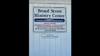 Sharing My Testimony at Augusta Homeless Shelter