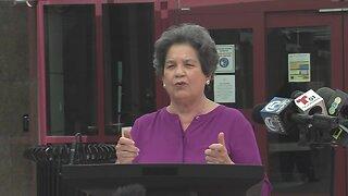 Rep. Lois Frankel discusses unemployment benefits for Floridians
