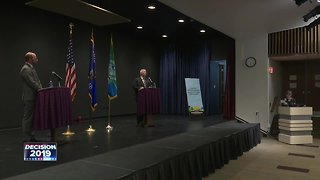 Green Bay mayoral candidates await election results