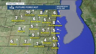 Warmer temperatures, clear skies for Wednesday