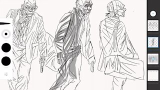 Joker illustrated by Joshua Lindsay, 2016