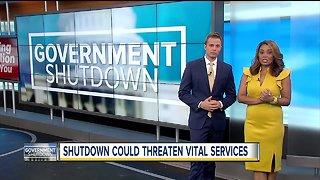 Government shutdown could threaten vital services