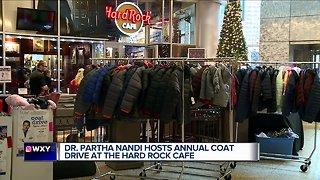 Dr. Nandi hosts annual coat drive in Detroit