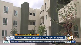 Newsom signs bill to cap rent hikes in California