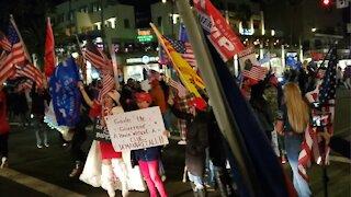Curfew Breakers Huntington Beach California Stop the Steal