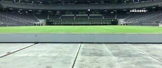 Las Vegas Raiders get ready to break in Allegiant Stadium