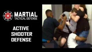 Active shooter defense plan