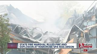 Fire Marshal: Wardrobe Spa explosion a case of arson