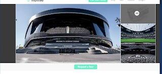 Allegiant Stadium virtual tours