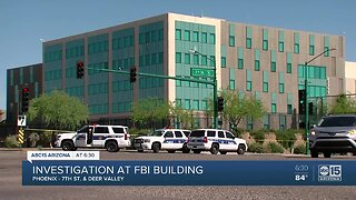Man arrested on Interstate 17 after shooting at Phoenix FBI office and worker