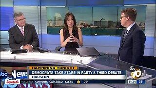Political analyst breaks down Democratic debate