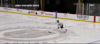 Vegas Golden Knights are back on the ice