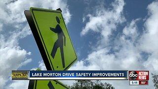 Lake Morton Drive safety improvements