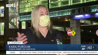 ICU nurse shares pandemic experience
