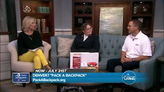 Pack A Backpack // Denver7 with Salvation Army