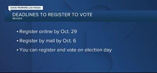 Voting registration deadlines