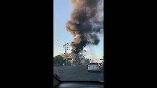 Firefighters battling fire at ASU building near Rural/University