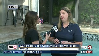 Water safety with Swimtastic Swim School
