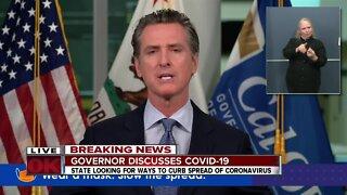California Coronavirus Update