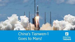 China's Tianwen-1 Goes to Mars!