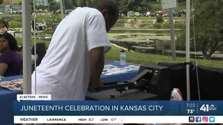 Juneteenth celebration in Kansas City