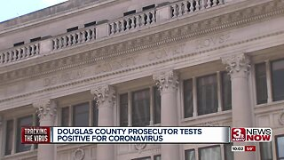 Douglas County prosecutor tests positive for COVID-19
