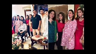 Kareena Kapoor Khan, Neetu Kapoor, Aadar Jain Get Together For Karwa Chauth Family Dinner | SpotboyE